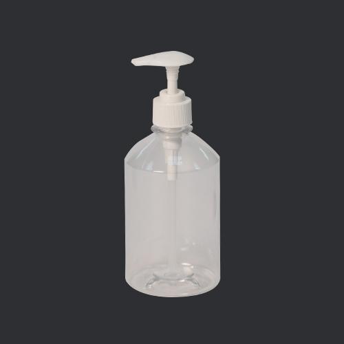 Plastic Bottle 450 ml Code หัวปั้มขวดกลมเตี้ย